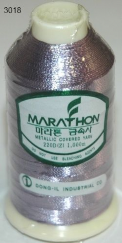 Marathon Rayon Embroidery Machine Thread Metallic - 3018